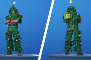 Get Christmas Tree Skin in Fortnite