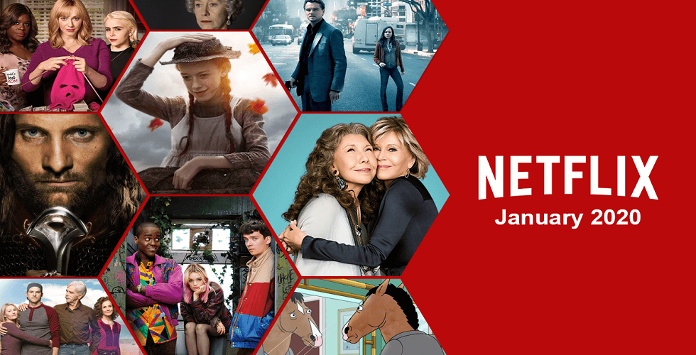 What's new on Netflix in January 2020