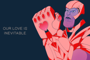 The Avengers Valentines Day Card