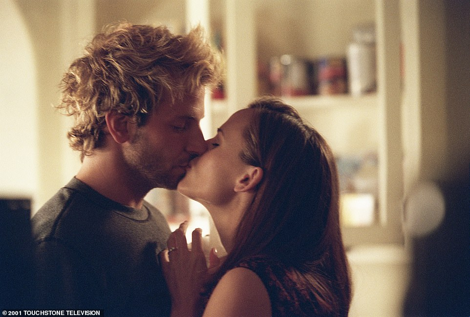 In it together: The pair played best friends/sometimes lovers Will Tippin and Sydney Bristow on the ABC spy show Alias