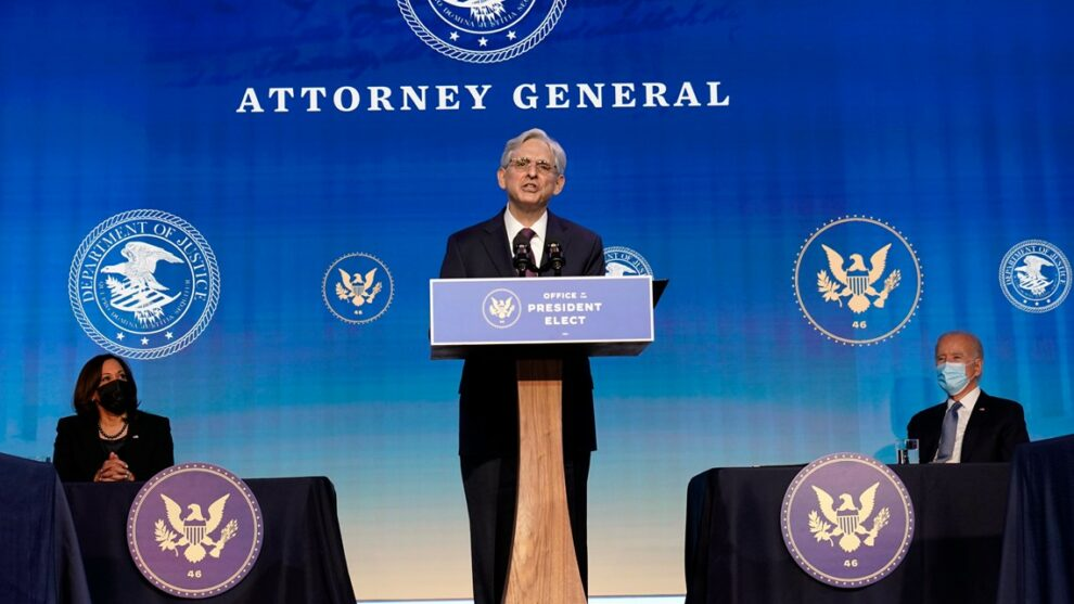 Snubbed as Obama high court pick, Garland in line to be attorney general