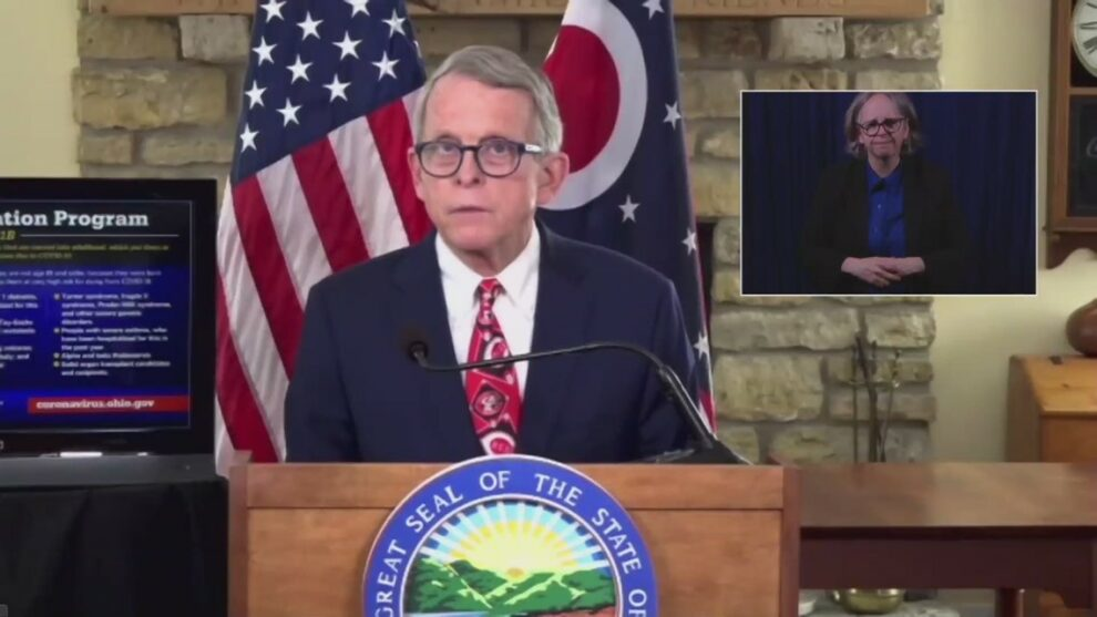 Ohio easing COVID-19 restrictions; 25 percent indoor, 30 percent outdoor capacities allowed at events, Gov. Mike DeWine announces