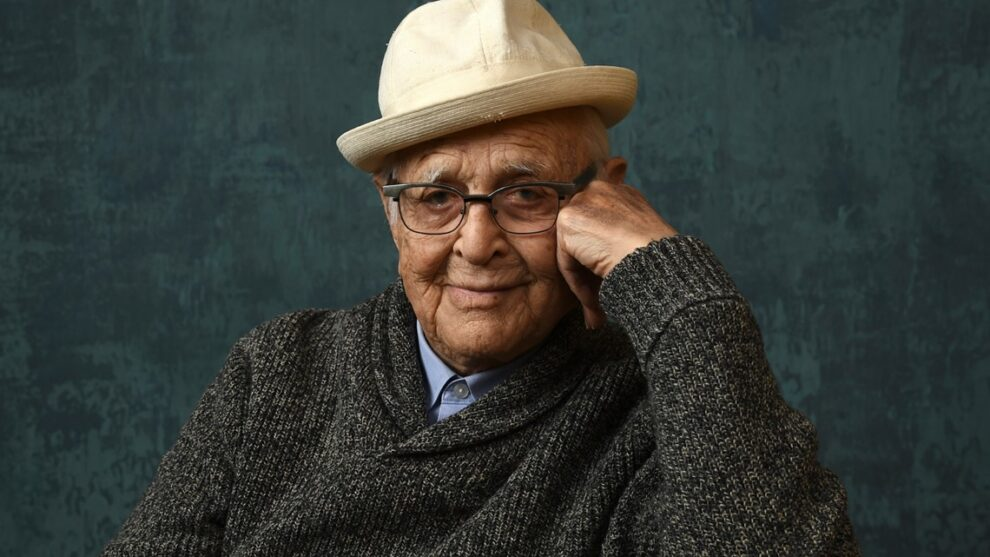 Norman Lear accepts Golden Globes award for long career in TV