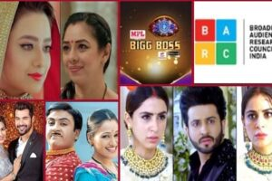 New List for The TRP of shows anupama