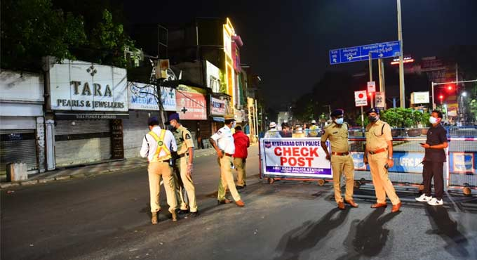 Telangana Night Curfew guidelines