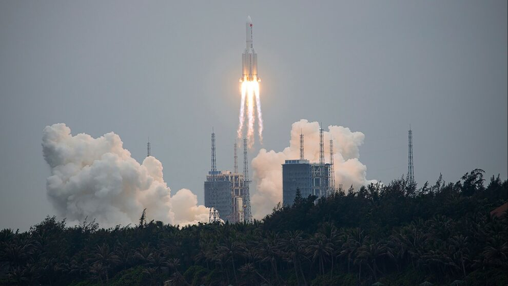 Aerospace group thinks it knows where China rocket debris will end up