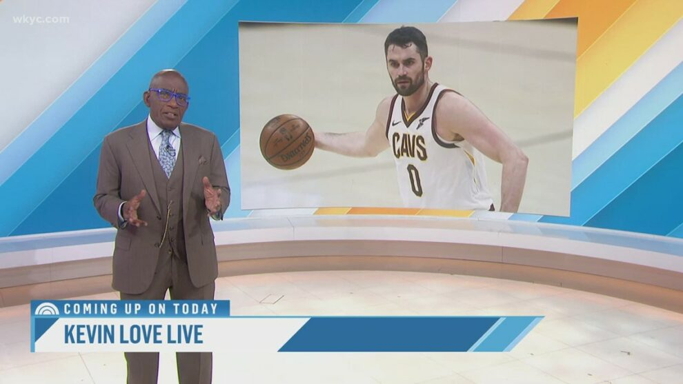 Al Roker teams up with Cleveland Cavaliers
