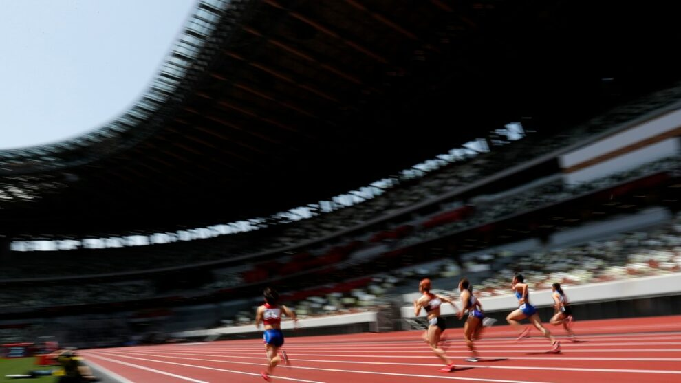 Tokyo Olympics: Differences inside and outside the National Stadium