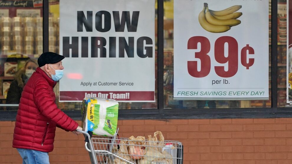 April jobs report comes Friday morning. Here