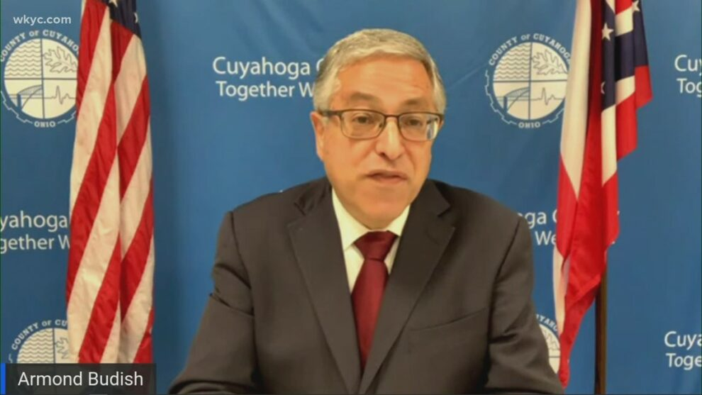 Watch live: Cuyahoga County Executive Armond Budish to give State of the County address