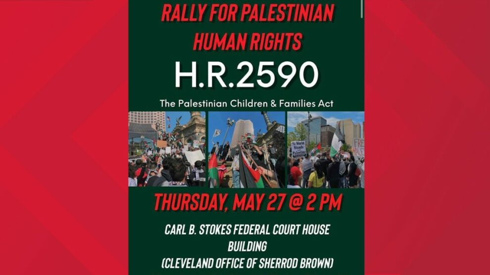 WATCH LIVE: Rally held at Carl B. Stokes Federal Court House in support of Palestine