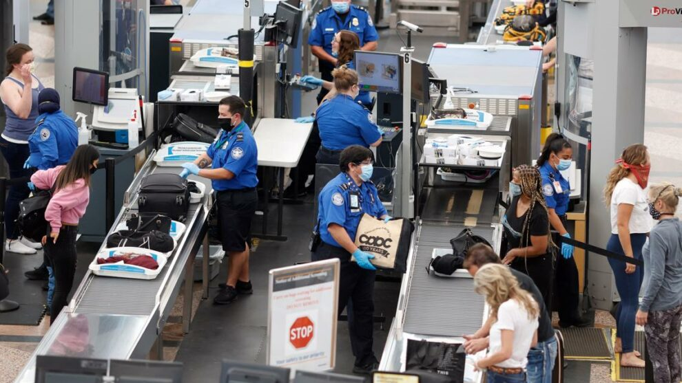 Airport passenger levels take off as TSA works to boost workforce by thousands