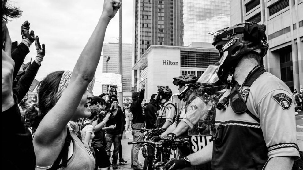 Lawsuit filed against Cleveland police officers, Cuyahoga County, City of Cleveland over excessive force and false arrests during May 30, 2020 protest