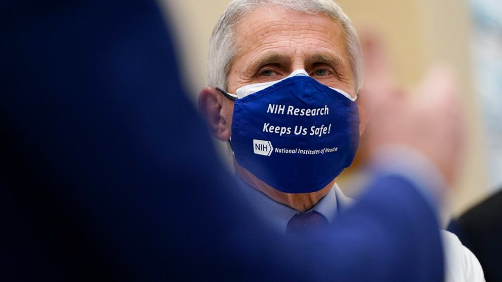 Dr. Fauci: Reasonable for businesses to keep masks