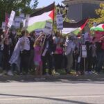 Rally in support of Palestine held in Westlake