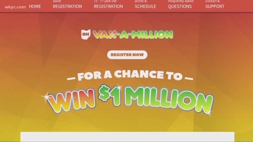 Fourth Vax-a-Million winners to be revealed tonight in Ohio
