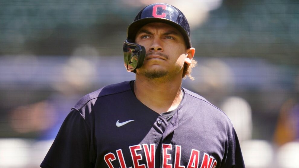 Cleveland Indians OF Josh Naylor diagnosed with ankle fracture, dislocation