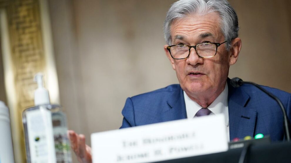 Powell claims 13-year inflation high is only temporary
