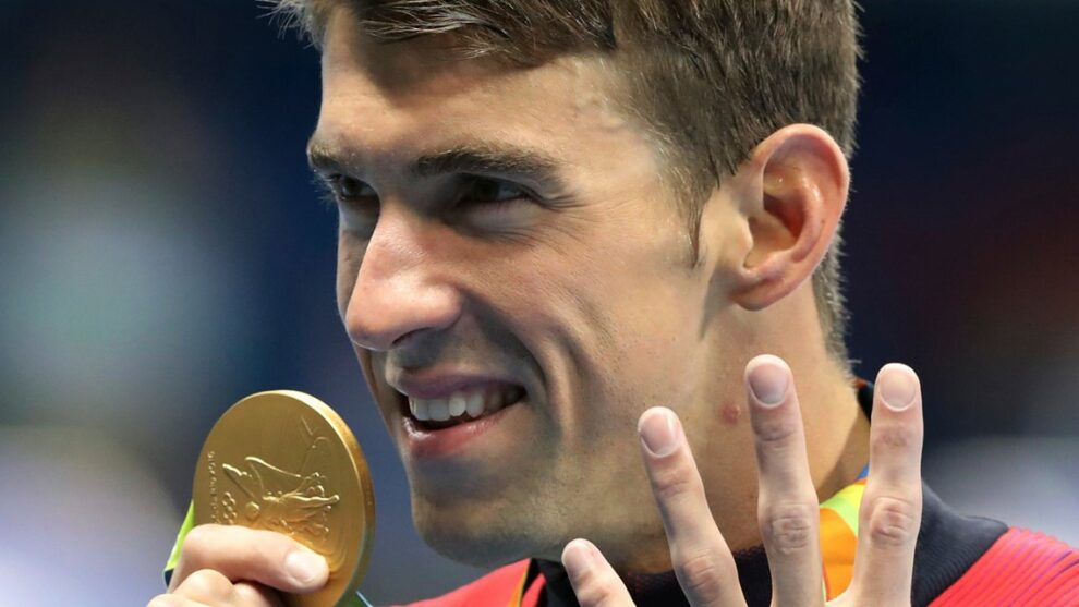 Michael Phelps is gone. Here