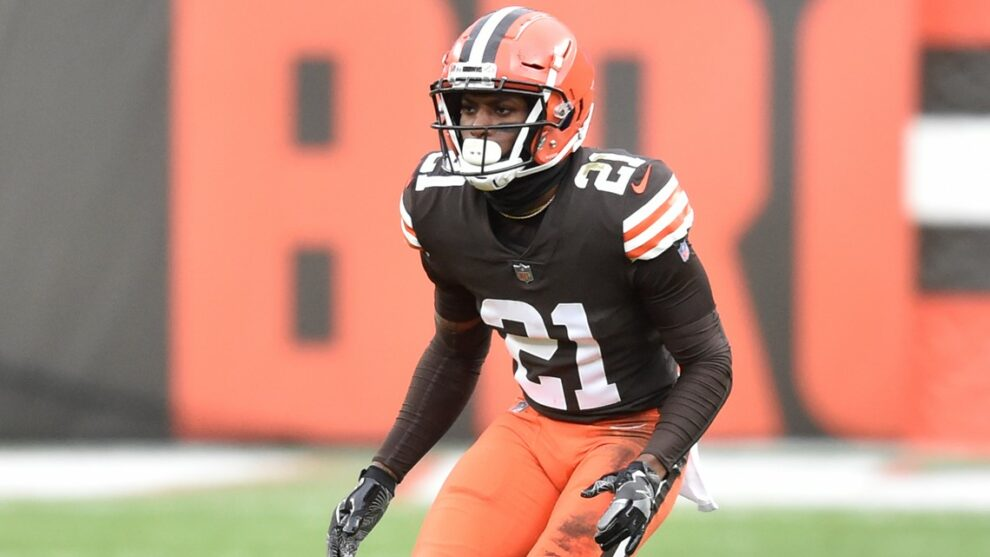 Denzel Ward says agent and Browns have discussed extension; wants to spend entire career in Cleveland