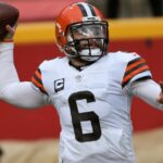 Cleveland Browns QB Baker Mayfield in