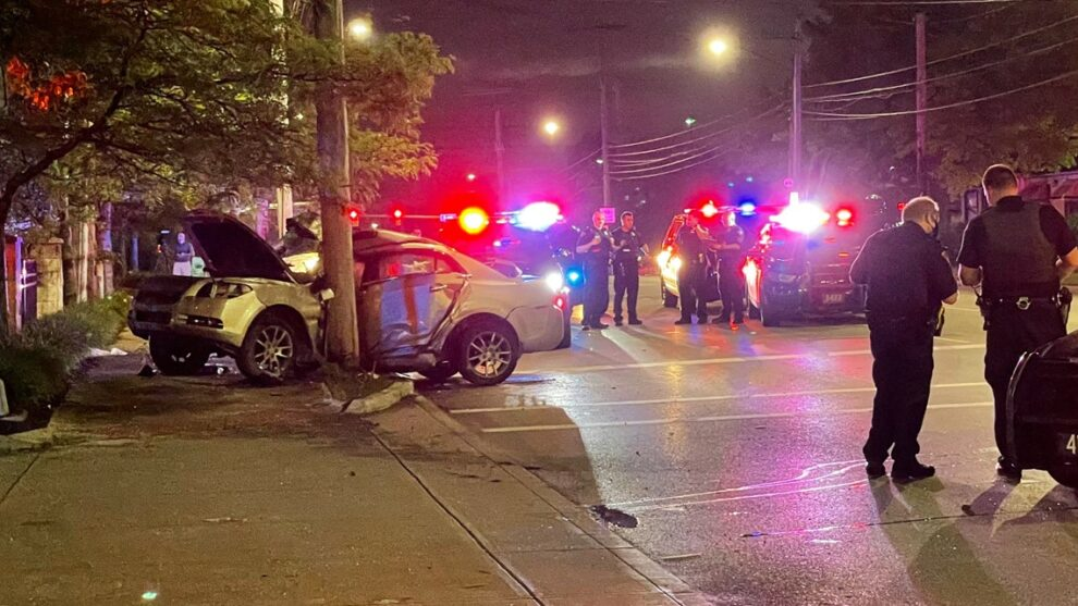 Garfield Heights police officers involved in 2 accidents in Cleveland, Accident Investigation Unit called to the scenes