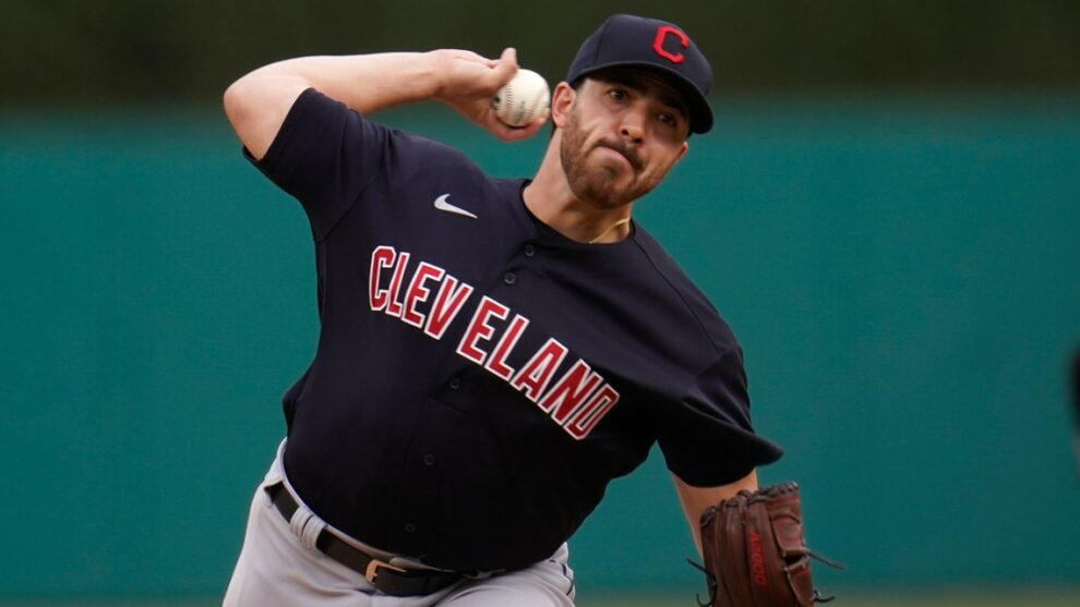 Cleveland Indians P Aaron Civale diagnosed with finger sprain, will miss 4-5 weeks of games