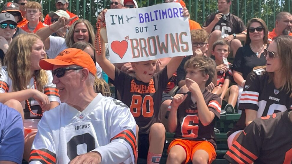 Cleveland Browns fans return to Berea for training camp