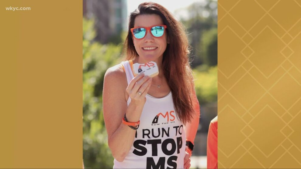 Northeast Ohio native with multiple sclerosis will run across the state