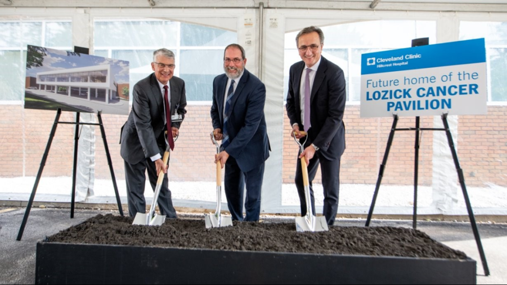 Cleveland Clinic Hillcrest Hospital breaks ground on cancer care facility expansion