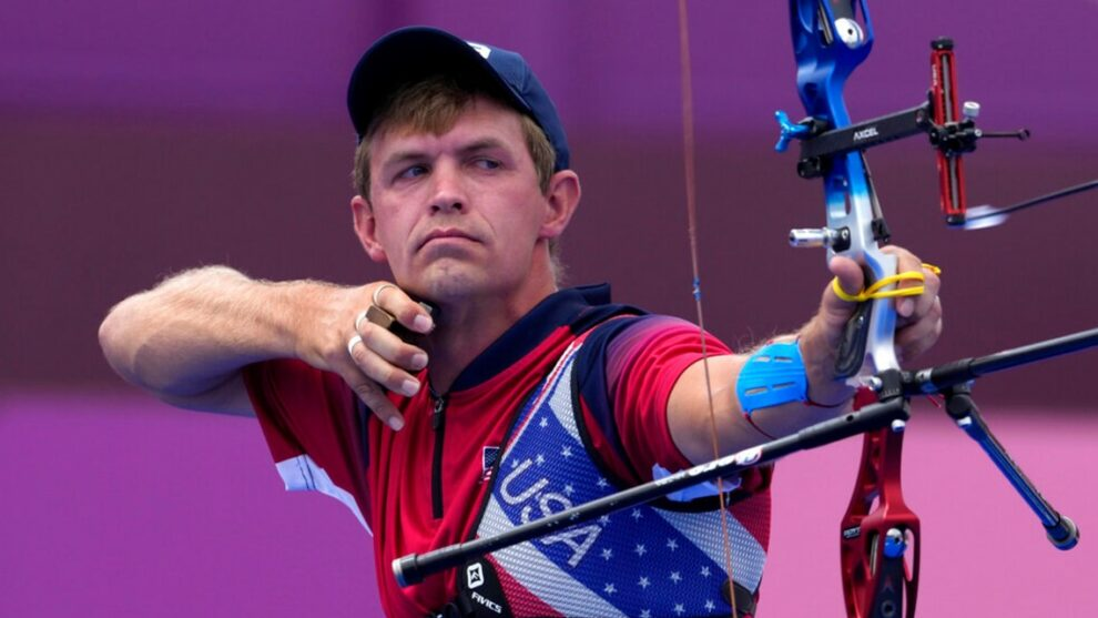 Massillon native Jacob Wukie advances in archery at Tokyo Olympics: When you can watch him compete next