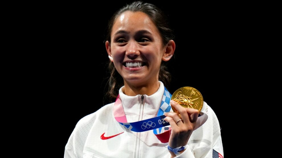 Cleveland native Lee Kiefer makes history with gold medal win in fencing at Tokyo Olympics