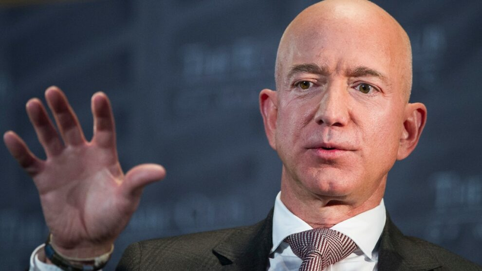 Amazon founder Jeff Bezos is stepping down as CEO