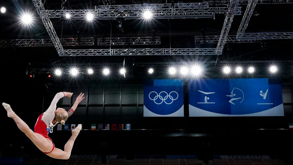 EXPLAINER: How the Russians caught the U.S. in gymnastics