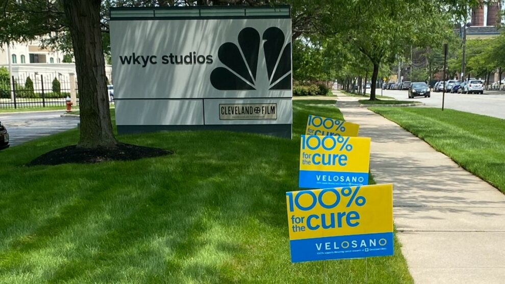 Team WKYC joins thousands of riders around Northeast Ohio in supporting VeloSano 8 this September
