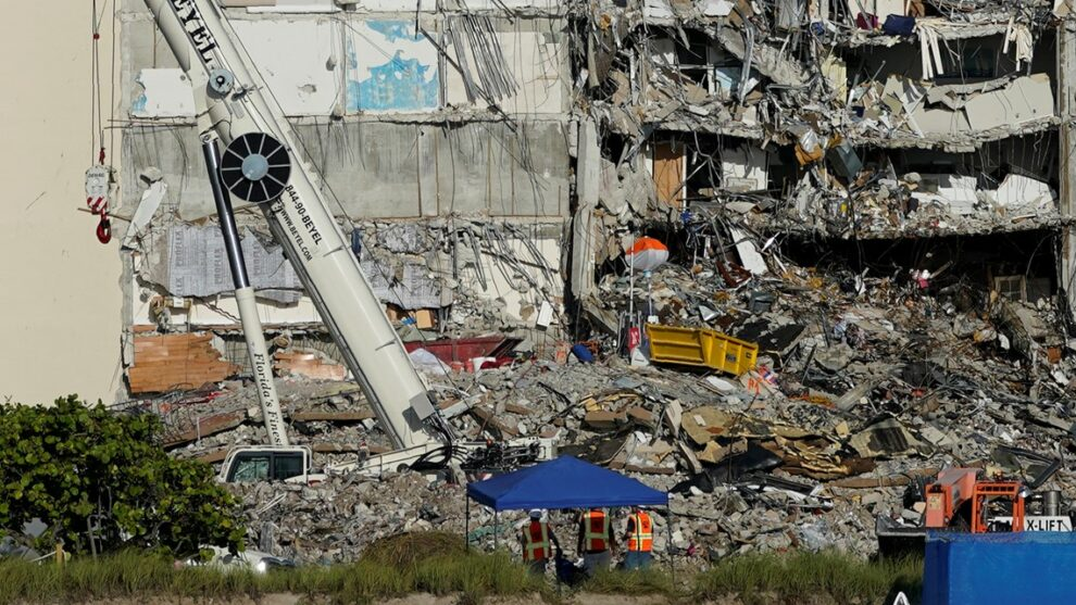 Remainder of collapsed Florida condo likely to be demolished