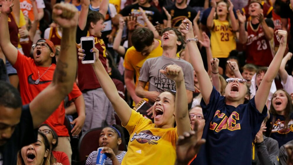 WATCH LIVE: Cleveland Cavaliers fans gather for draft party as team selects Evan Mobley 3rd overall