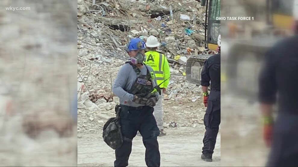 Ohio Task Force 1 remains in Florida fighting difficult weather conditions in search for missing from condo collapse