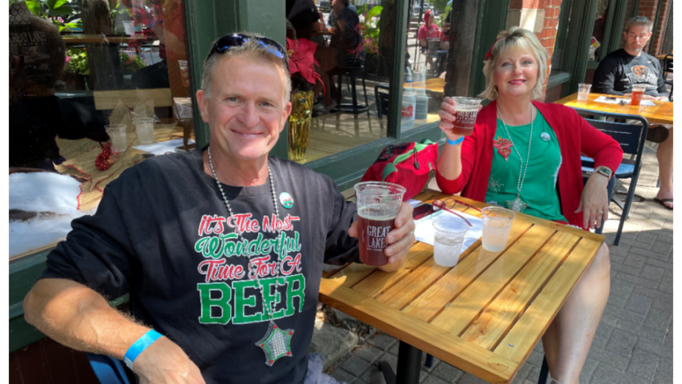 Great Lakes Brewing Company celebrates Christmas in July in Ohio City