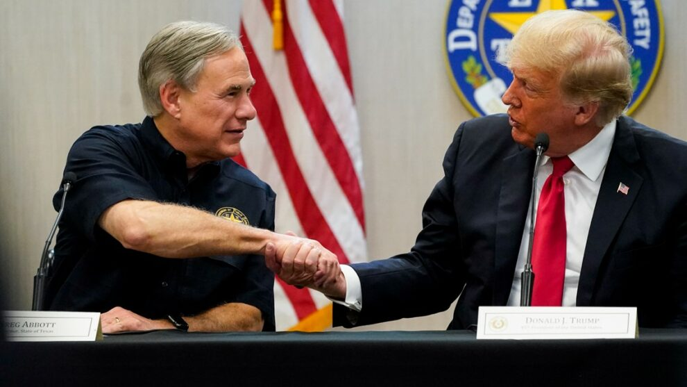 Fact-checking former President Trump's and Texas Gov. Abbott's visit to the border