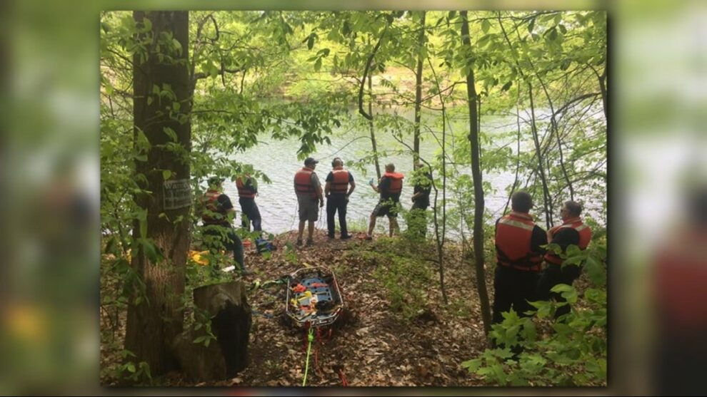 South Summit Water Rescue Team holding large-scale emergency training event this week at Portage Lakes State Park