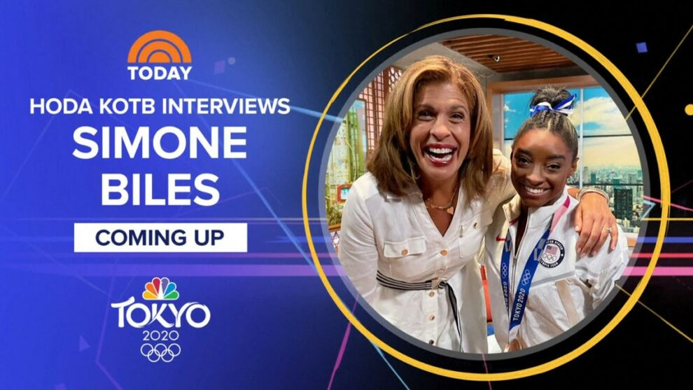 Simone Biles reflects on her time in Tokyo: One-on-one interview with Hoda Kotb on