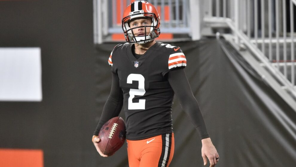 Cleveland Browns placing kicker Cody Parkey on injured reserve with groin injury