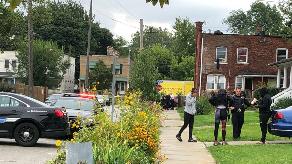 Multiple people shot in drive-by incident on Marietta Avenue in Cleveland