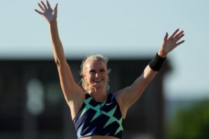 Olmsted Falls native Katie Nageotte competes for medal today in women