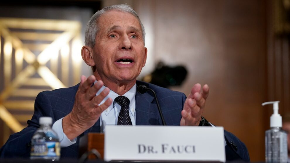 Fauci hopeful COVID vaccines get full OK by FDA within weeks