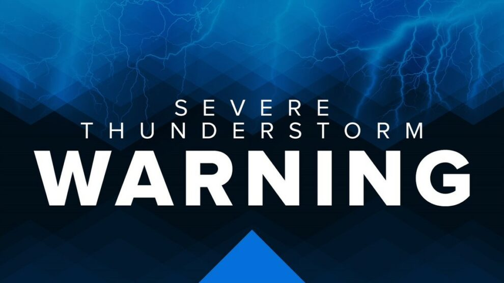 Severe Thunderstorm Warning issued for portion of Stark and Tuscarawas counties