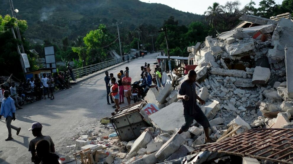 Lake County bishop opens up about family struggling after massive earthquake in Haiti