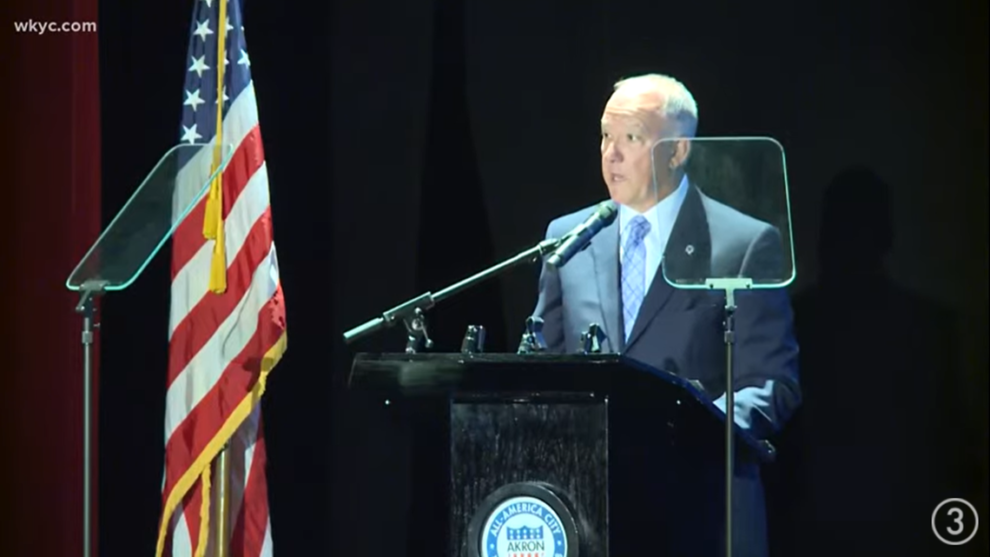 Akron Mayor Dan Horrigan gives 2021 State of the City address