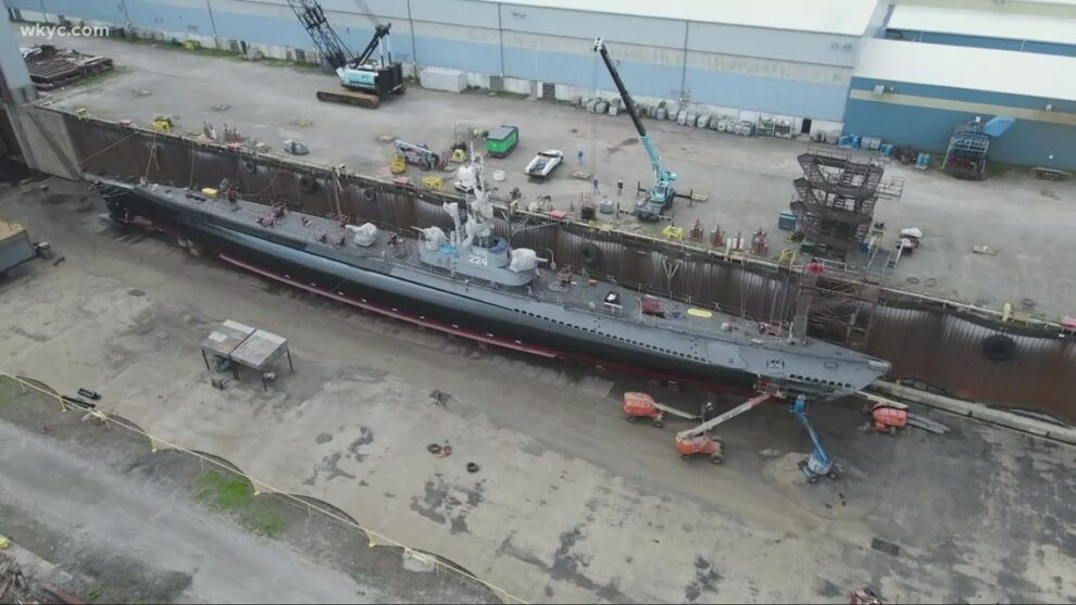 USS Cod scheduled to return to Cleveland on Wednesday evening